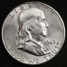 1949-s  Franklin Half Dollar.  94423 (Inv. A)