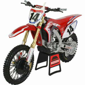 Ray HRC Factory Racing Team Honda CRF 450R Cole Seely 1:12 Motocross Toy