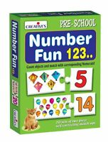 🔥 Creative Educational Number Fun 123 Multi Colour 54 Pcs ***GREAT PRICE***