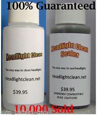 Headlight Cleaning and Headlight Sealer