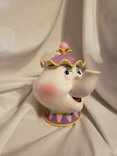 Disney Beauty And The Beast Ceramic Mrs Potts Tea Pot Music Box Does not work