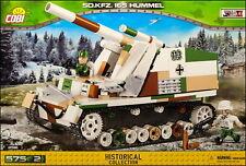COBI Sd.Kfz.165 Hummel (2516) - 575 elem. - WWII German self-propelled gun