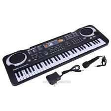 61 Key Electric Digital Piano Organ Music Electronic Keyboard w/ Microphone