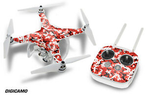 DJI Phantom 3 Drone Wrap RC Quadcopter Decal Sticker Custom Skin Accessory DC R