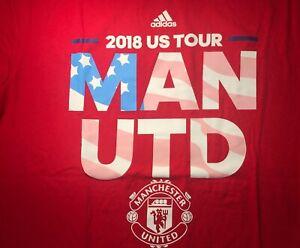 Men's adidas Manchester United S/S T-Shirt Sz Medium (M)