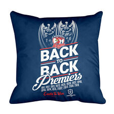 NRL 2019 Premiers Cushion - Sydney Roosters - 43cm x 43cm - Back To Back
