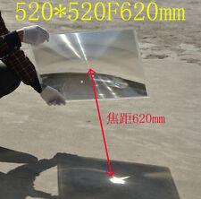 520mm PMMA Plastic LED Solar Fresnel Solar Energy Large Condensor Lens