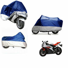 Housses de protection bleue pour motocyclette
