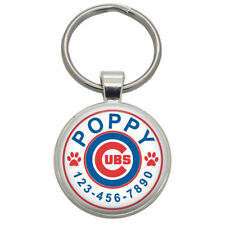 Dog Tags - Chicago Cubs - Cute Metal Pet Id Dog Cat Tag Custom Tag for Pets