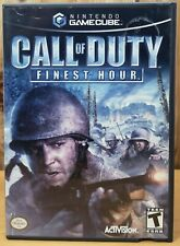 Call of Duty Finest Hour (Nintendo GameCube, 2004, Activision) *T
