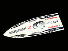 DT E36 Sword Electric RC Speed Racing Boat 80km/h 120A ESC Fiber Glass PNP White