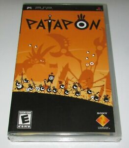 Patapon (Black Label Version) Sony PSP Brand New / Fast Shipping