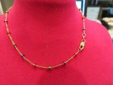 """14K Yellow Gold 10"""" Link Ankle Bracelet  2.2 gr"""