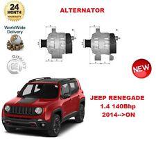 für Jeep Renegade 1.4 140 BHP 2014 > auf Lichtmaschine Einheit