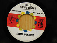 Jimmy Durante 45 Hello Young Lovers bw This Is All I Ask   WB  M-