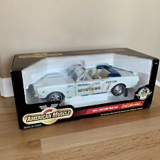 ERTL AMERICAN MUSCLE 1964 1/2 FORD MUSTANG INDY 500 PACE CAR 1:12 SCALE, NOS