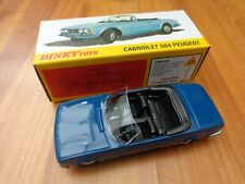 DINKY TOYS 1423 - PEUGEOT 504 CABRIOLET CAR - NEW - ATLAS EDITIONS
