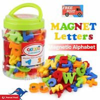 78PCS Magnetic Numbers Letters Alphabet Learning Toy Fridge Magnets Xmas gift CE