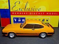 WOW EXTREMELY RARE 1/43 VANGUARDS FORD CAPRI MK3 3.0S SIGNAL AMBER NLA