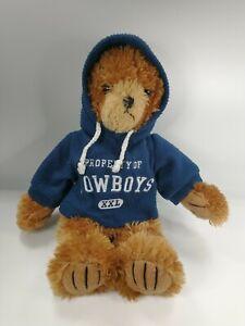 Dallas Cowboys Teddy Bear Good Stuff 14 Inch With Hoodie