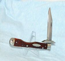 RARE VINTAGE CASE XX REDBONE CHEETAH LOCKBACK KNIFE 6111 1/2 BOOK $1000.00
