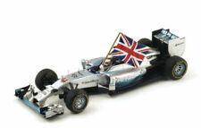 Modellini statici di auto da corsa Formula 1 Spark mercedes GP scala 1:18