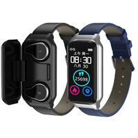 Smart Bracelet Sports Watch 2 in1 TWS Earbuds Wireless Earphones