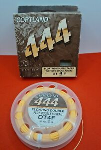 Cortland 444 Fly Fishing Line DT4F FLOATIMG DOUBLE TROUT LINE 30YDS