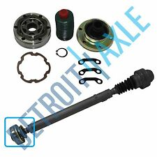 Brand New Front Driveshaft Complete CV Joint Kit for Jeep Trucks - 4x4