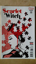 SCARLET WITCH #8 FIRST PRINT MARVEL COMICS (2016) AVENGERS