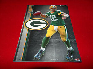 """AARON RODGERS 2013 NFL FATHEAD TRADEABLES 5"""" x 7"""" GREEN BAY PACKERS - #10"""
