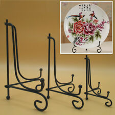New Iron Easel Bowl Plate Art Photo Picture Frames Holder Book Display Stands
