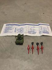 New listing Parts For Vintage Gi Joe Missile Launcher Pac/Rat Vehicle Arah 1983