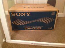 Sony Cdp-cx355 Brand New In Original Box,please See Photos & Description