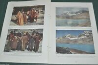 1930 LIMA PERU magazine article, color photos, history, people etc