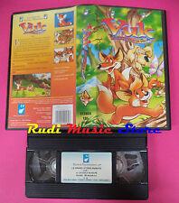 VHS film VUK IL CUCCIOLO DI VOLPE 2000 ALFADEDIS SAv057 animazione (F145*)no dvd