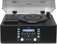TEAC LP-R550USB-B CD recorder turntable cassette player From Japan F/S NEW
