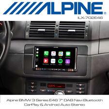 "Alpine BMW 3 Series E46 7"" DAB Navi Bluetooth CarPlay & Android Auto Stereo"