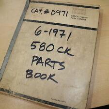 Case 580 Ck B Tractor Parts Manual Book Catalog Spare List D971 Farm Factory Oem