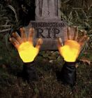 Halloween Prop Animated Grave Breaker Arms Light-Up, 2pc (pc) J25