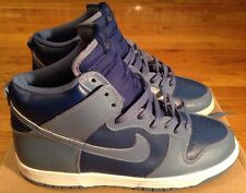 1999 Nike Dunk High LE Size 10 Rapid / Storm Grey-White 630335 402 Deadstock