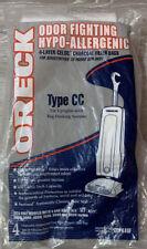 4 ORECK ODOR FIGHTING HYPO-ALLERGENIC  TYPE CC Upright Vacuum Bags - NIP