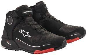 Alpinestars Cr-X Drystar Motorcycle Shoes Waterproof Trainers Outdoor Look