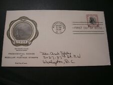 1938 Fdc Cover $1 Wilson