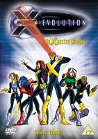 X MEN EVOLUTION - Series -1 Unexpected Changes Cartoon Volume-1 New Region 2 DVD