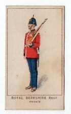 UK Rare Trade Card Kings Specialities War Series Royal Berkshire Regt Private