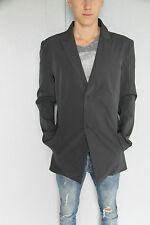 chaqueta elástica gris bcbg M+F GIRBAUD prescissors T 46 NUEVO/ETIQUETA valor