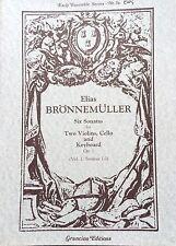 Early Ensemble Series No. 5a - Elias BRÖNNEMÜLLER - Grancino Editions