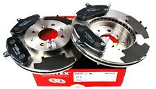 MINTEX FRONT BRAKE SET DISCS, PADS ROVER HONDA MG MDK0007 (REAL IMAGE OF PART)