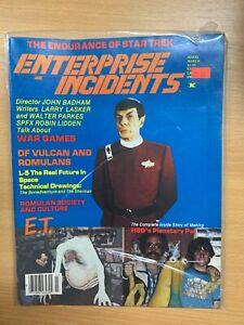 "*RARE* MAR 1984 STAR TREK ""ENTERPRISE INCIDENTS"" #15 USA MAGAZINE (P4)"